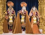 Shri Harikrishna Maharaj and Shri Radha-Krishna Dev, October 23, 2016