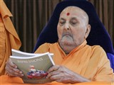 Swamishri inaugurates an English print publication - 'Impressions' Part 3