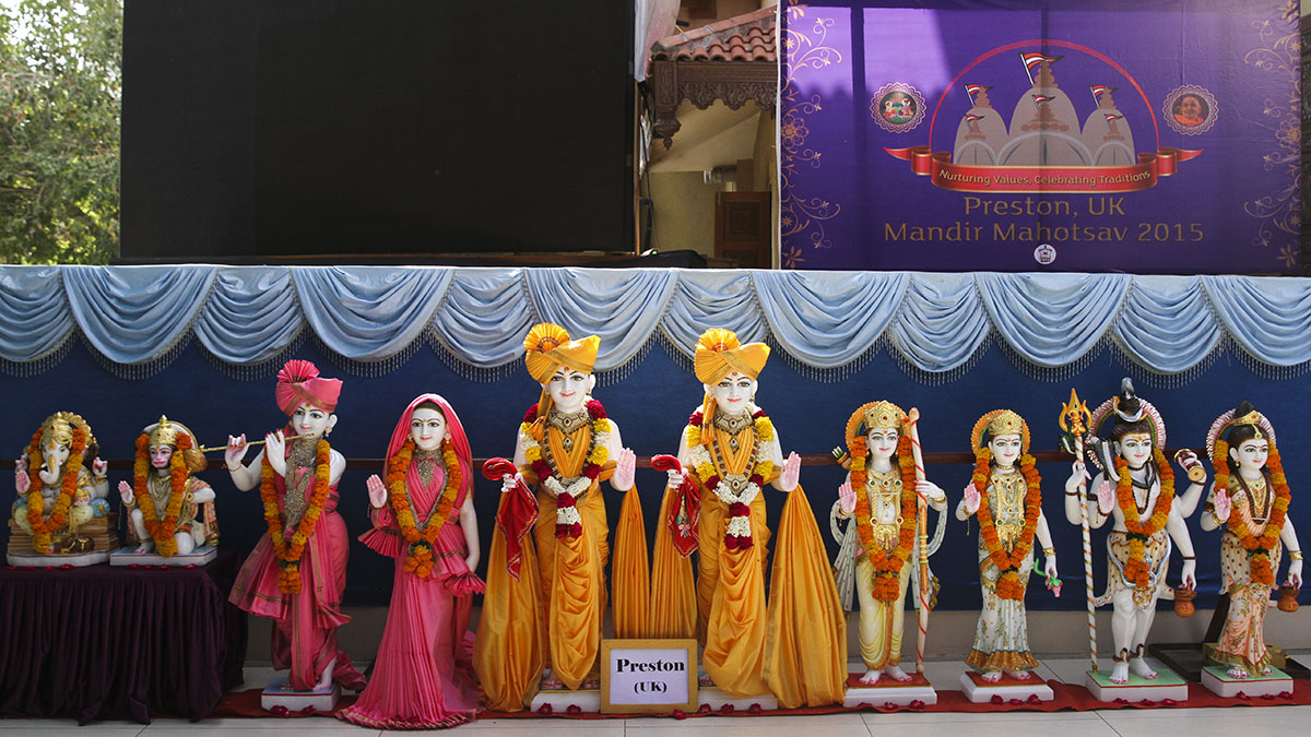 Murtis to be consecrated for BAPS Shri Swaminarayan Mandir, Preston, UK