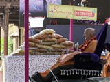 Swamishri sanctifies Premvati food items