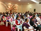 Devotees during the shibir