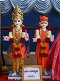 Murtis to be consecrated for BAPS Shri Swaminarayan Mandir, Nava Vaghpura (Bharuch)