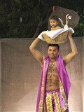 'Krishnalila' - a dance-drama presentation by youths as a part of Janmashtami celebrations