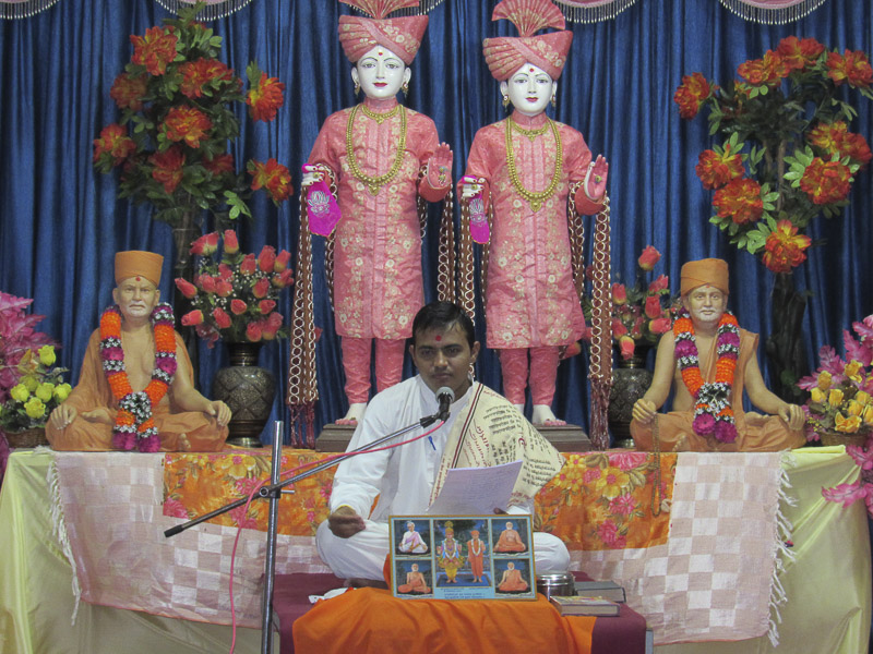 'Sanskruti' Yuva Parayan during the auspicious month of Shravan, Kalol