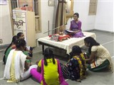 'Sanskruti' Yuvati Parayan during the auspicious month of Shravan, Gana