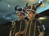 A skit presentation by children from the Mumbai Bal Mandal