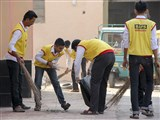 BAPS Youths Participate in 'Clean India Campaign', Rajkot