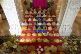 Annakut Celebration at BAPS Shri Swaminarayan Mandir, Atladra (Vadodara)