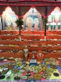 Annakut Celebration at BAPS Shri Swaminarayan Mandir, Limbe