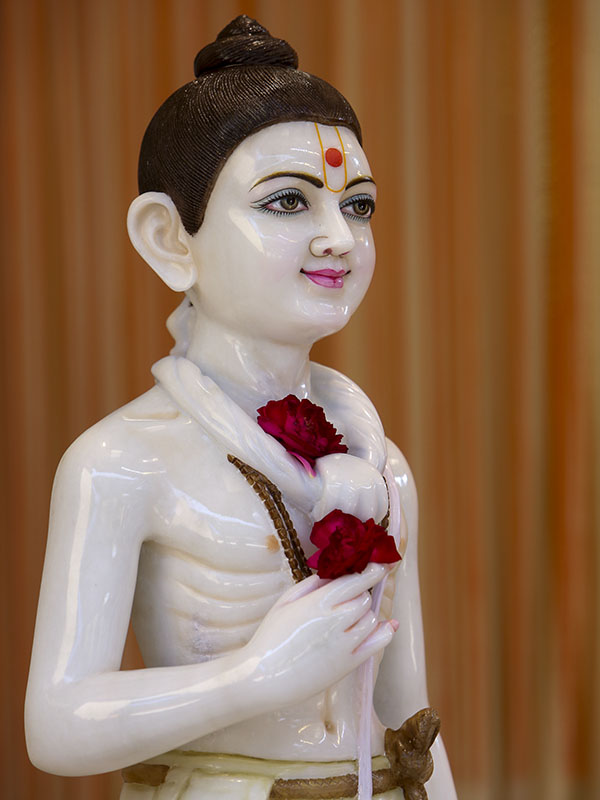 Shri Nilkanth Varni murti to be consecrated at BAPS Shri Swaminarayan Mandir, Bhayli, India