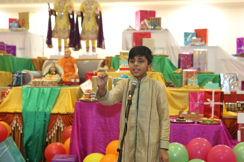 Pramukh Swami Maharaj 95th Birthday Celebrations (Bal Mandal), London, UK