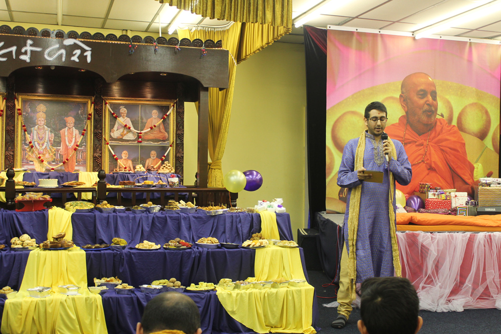 Pramukh Swami Maharaj 95th Birthday Celebrations, Loughborough, UK