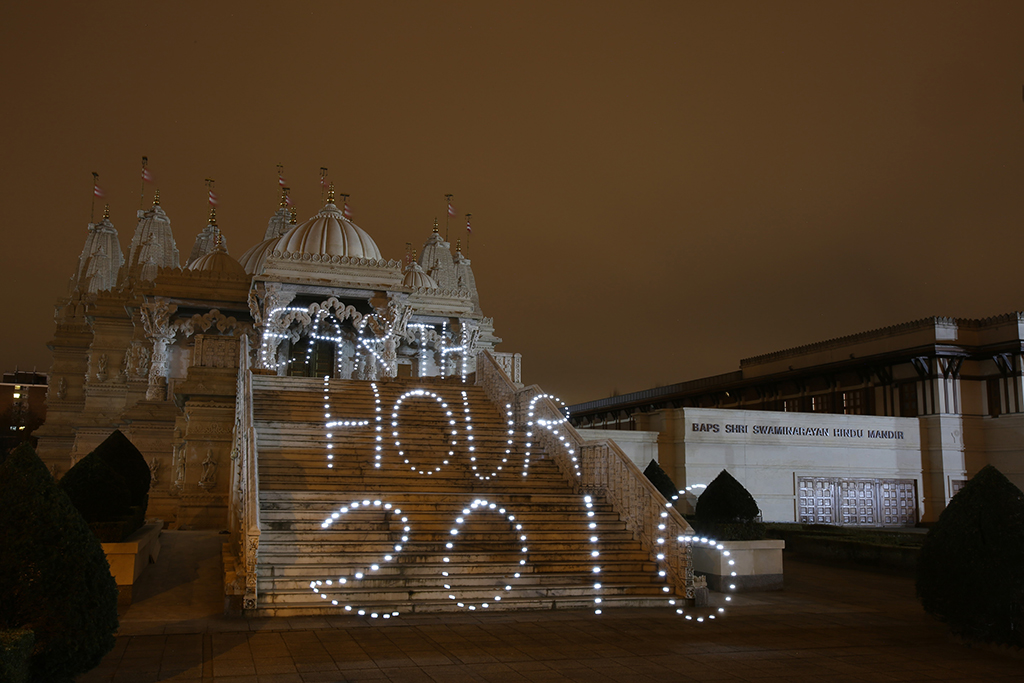 Earth Hour 2016, London