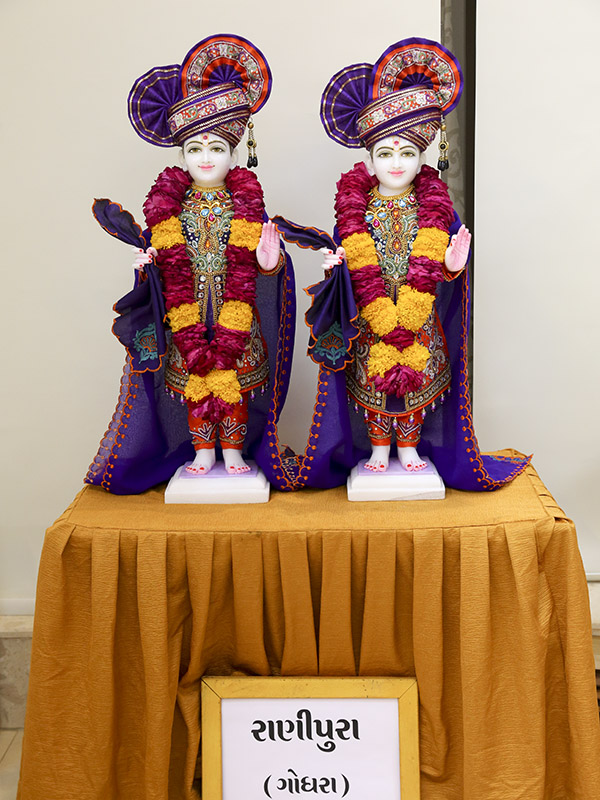 Murtis to be consecrated at new BAPS Shri Swaminarayan Mandir, Ranipura, India