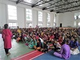 Janmastami Assembly starts with fun activities and students involvement programmes