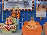 Narayanmuni Swami addresses the assembly