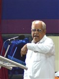 Dr. B T Valiya addresses the assembly