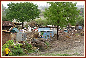Damage and Food Distribution<br>2 July 2007 -