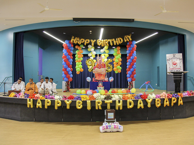 Pramukh Swami Maharaj's 96th Birthday Celebration, Canberra