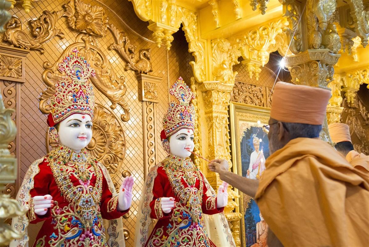 inauguration of baps shri swaminarayan mandir  augusta  ga
