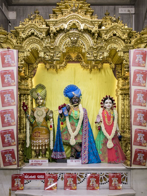 Shri Harikrishna Maharaj and Shri Radha-Krishna Dev, 20 May 2017