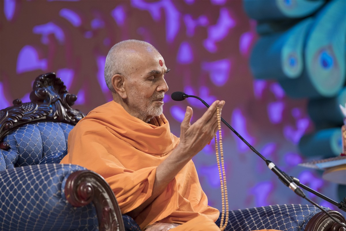 Swamishri shared profound insights into the dangers of ego