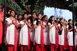 Young participants sing verses in Sanskrit to honor the Guru-Shishya relationship