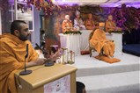 Tyagratnadas Swami praised the devotion and dedication of the local satsang mandal