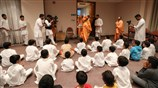 Swamishri graced a children's sabha
