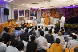 Balaks, kishores and yuvaks presented the history of South London Satsang Mandal