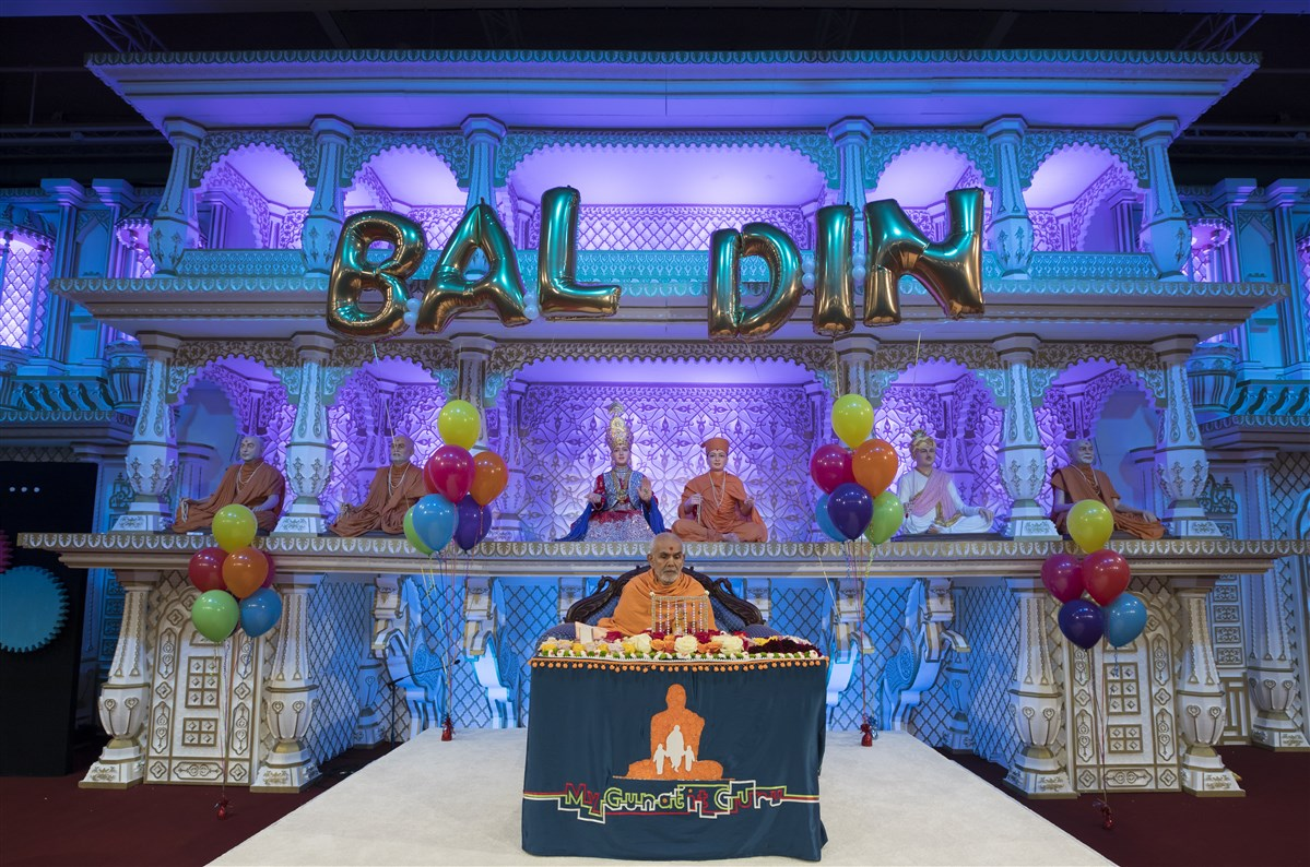 Today is being celebrated as Bal-Balika Din