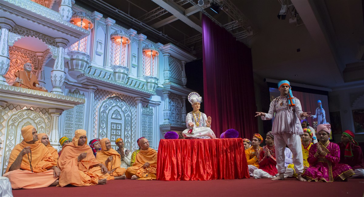 ... from the time of Bhagwan Swaminarayan
