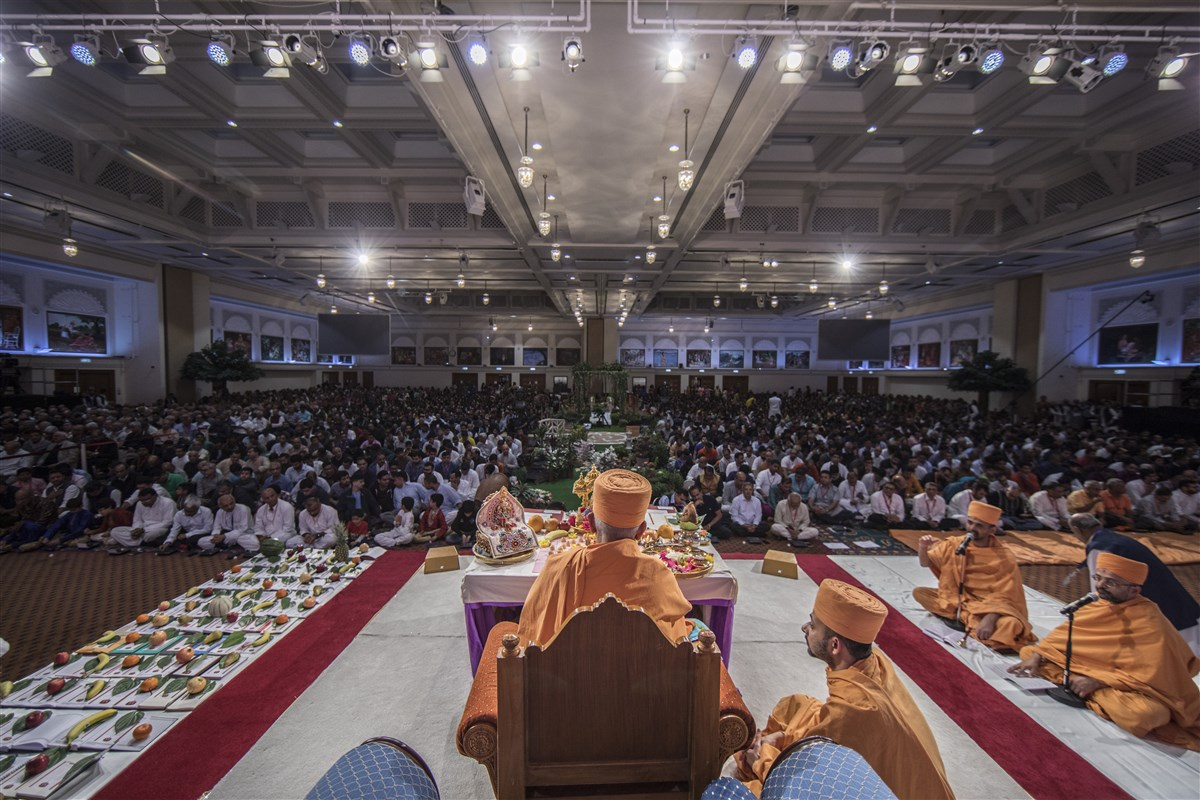 Devotees from around the country have gathered on this auspicious occasion...