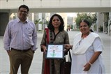 Visit of Smt. Charu Mathur to campus and interacted with teachers