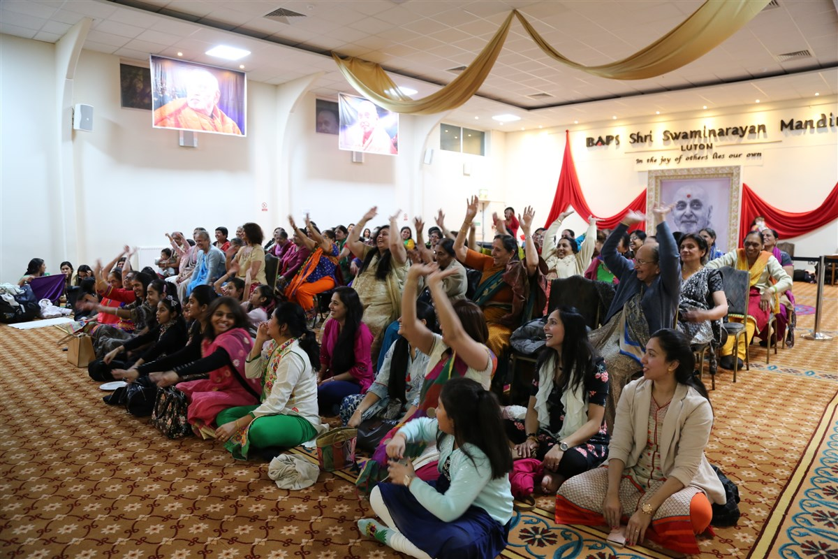 Celebrating International Women's Day, Luton, UK