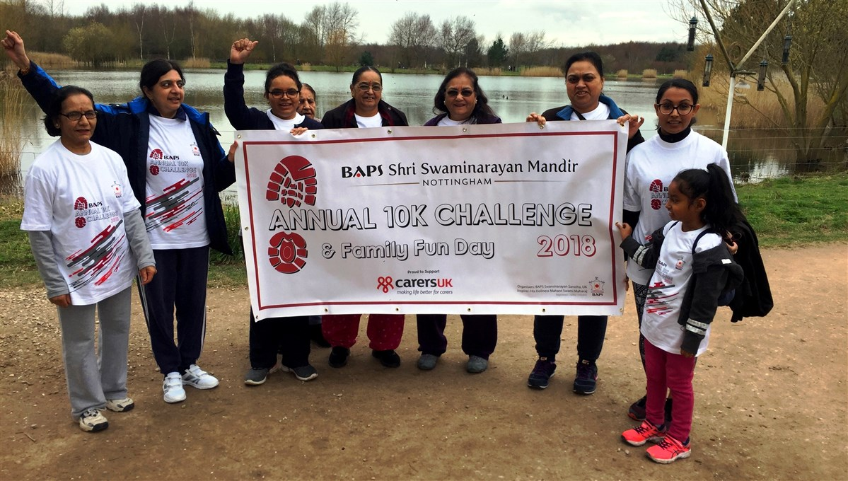 BAPS Annual 10K Challenge, Nottingham, UK