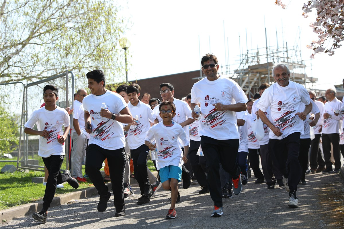 BAPS Annual 10K Challenge, East London, UK