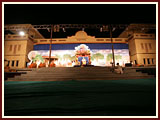 Shri Hari Jayanti celebration stage