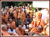 Celebration of Shastriji Maharaj's Smrutiparva
