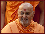Swamishri in an illustrious mood