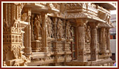 Intricate carvings of Bhadra Mandir