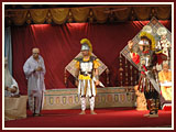 Cultural presentation before Swamishri