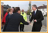 The Right Honourable Tony Blair MP, Prime Minister visits BAPS Shri Swaminarayan Mandir, London, UK 2006