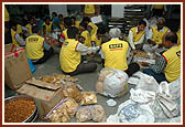 Relief Work at different BAPS Ahmedabad,10 August 2006