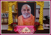 Worldwide Celebraion of Pramukh Swami Maharaj's 86 Birthday,Philadelphia -