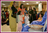 Worldwide Celebraion of Pramukh Swami Maharaj's 86 Birthday,Raleigh -