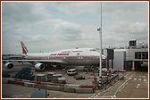 Air India's flight AI111 to New York JFK
