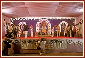 Swamishri attends the 20th Annual Day program of Akshar Purushottam Chhatralay