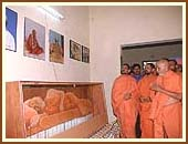 The room sanctified by Shastriji Maharaj in which he stayed for many months.