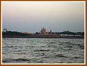 The Sanstha's first Mandir on the sea shore of the Arabian Sea